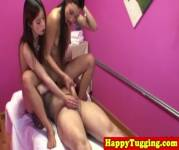 Real Nuru Masseuses Sharing Customers Dick