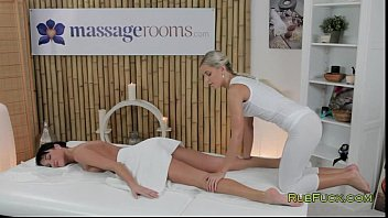 6 Min Two Burning Hottie Having Some Fun By Masseging Each Other