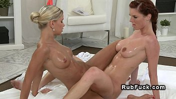Lesbians Like Having Some Fun By Oiling Themselves Together Porn Videos