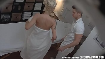 Seducing And Fucking Massage Client With Hidden Cameras Around