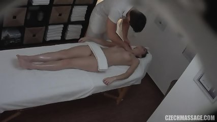 Amateur Euro Babe Went For An Oily Massage Sex Video