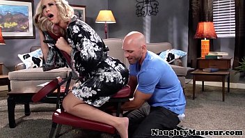 Mature Simone Sonay Enjoys A Seductive Massage And Vigorous Pounding